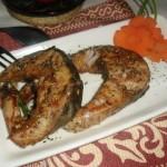黑椒烤鱼(烤箱菜)