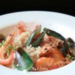 意式蘑菇海鲜炖饭