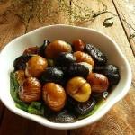 栗子煮香菇