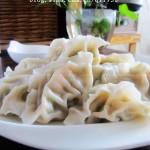 虾仁青椒水饺(早餐菜谱)