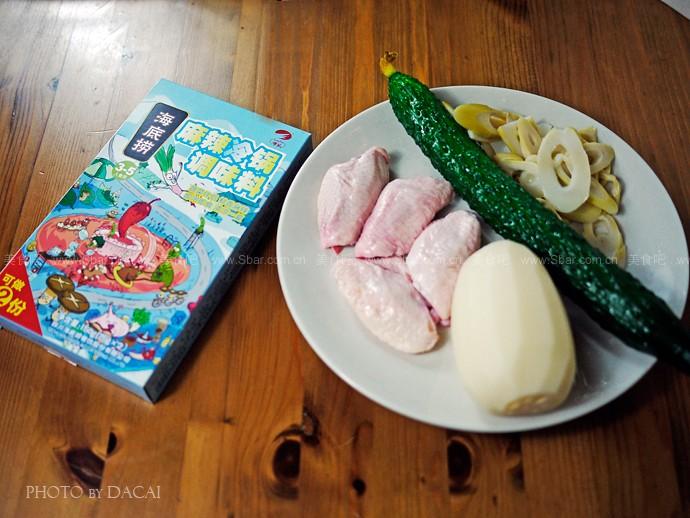凉拌手撕鸡、麻辣海陆汇、麻辣鸡翅、麻辣羊肉烩粉条、什锦钵钵鸡