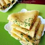 小葱鸡蛋煎饼(早餐菜谱)