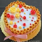 心形玫瑰蛋糕(甜品點心)