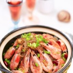 酸菜粉丝北极虾煲(超级下饭菜)