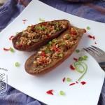 烤茄子(烤箱菜)