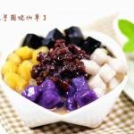 蜜豆芋圆烧仙草、烧仙草奶茶(甜品)