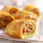 培根起司蛋饼(早餐菜谱)