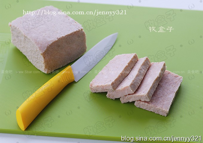 自制健康安全午餐肉