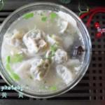 香芹虾仁馄饨(早餐菜谱)