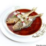 煎蒸黄鱼(清蒸菜)