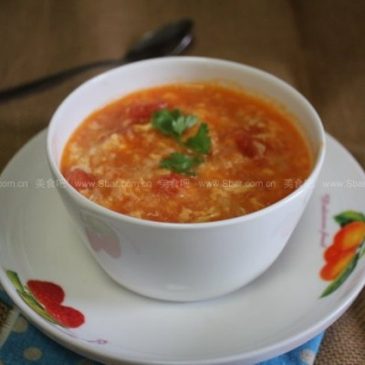 老北京番茄疙瘩汤