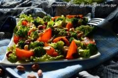 柿子生菜沙拉