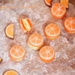 香橙马卡龙(甜品点心)