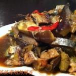 咸鱼茄子蒸(清蒸菜)