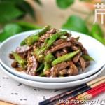 杭椒牛柳(炒出嫩滑牛肉的小窍门)