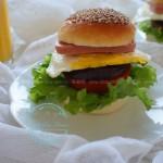 家庭自制汉堡包(早餐菜谱)
