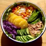 金槍魚蔬果沙拉