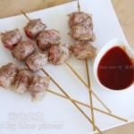 五花肉蕃茄卷(烤箱菜)