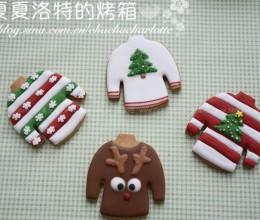 6款冬季毛衣糖霜饼干