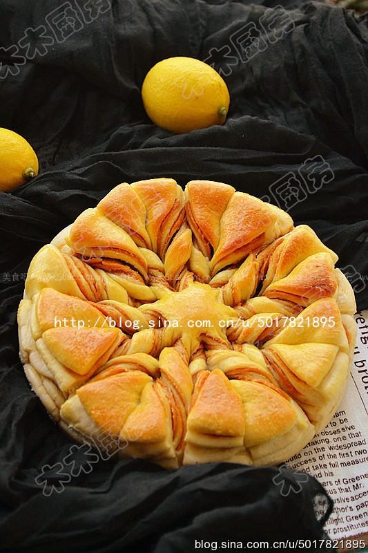 花生酱花式面包