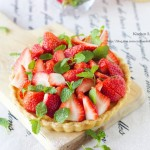 草莓柑橘塔(甜品点心)