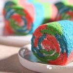 彩虹蛋糕卷(甜品点心)