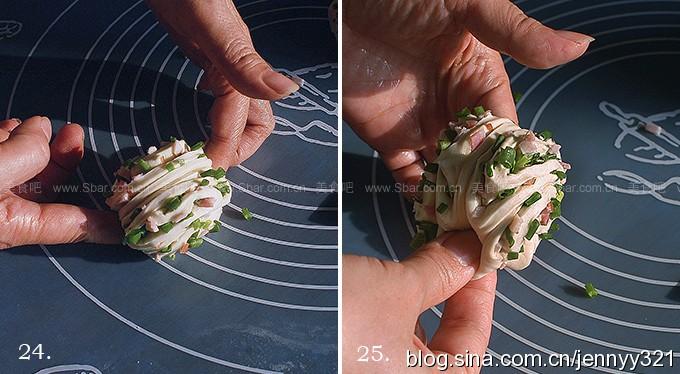 培根香葱花卷