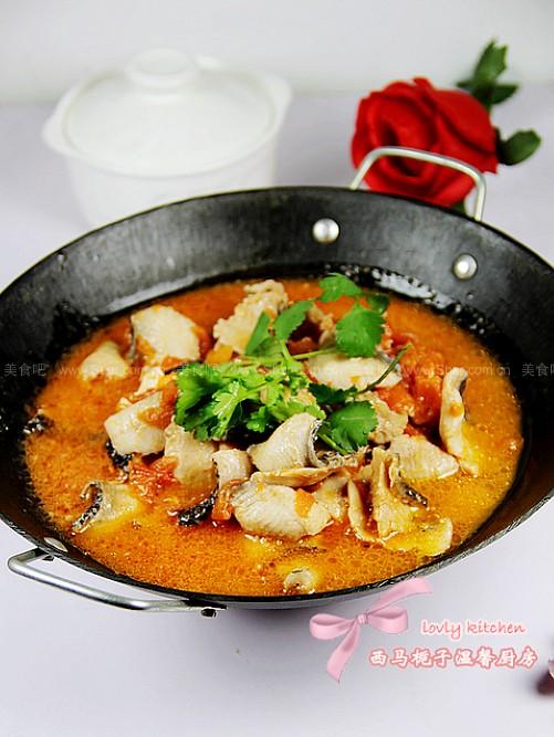 番茄魚火鍋