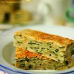 油渣葱花饼(早餐菜谱)