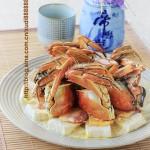 冻豆腐蒸蟹