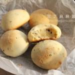 黑芝麻麻薯面包(早餐菜谱)