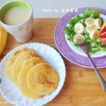 健康粗粮玉米饼(早餐菜谱)