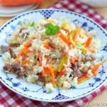 羊肉抓饭(新疆美食)
