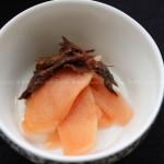 浸渍嫩姜(日式料理)