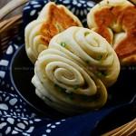 脆底儿香葱花卷(早餐菜谱)