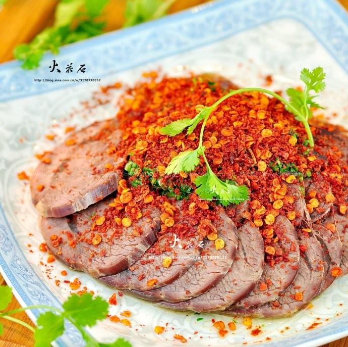 干拌牦牛肉
