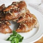 烤猪蹄(滋补美容圣品)