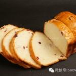 蔓越莓奶香吐司(面包机食谱)