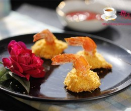 香炸凤尾虾