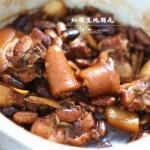 红腰豆炖猪尾(冬日独特又养生的滋补营养菜)