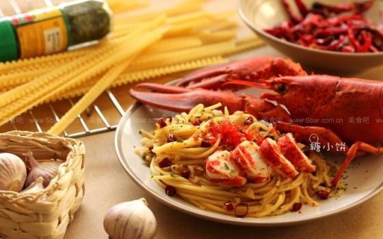 龙虾意面(早餐菜谱)