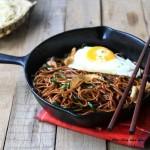 酱油炒面(早餐菜谱)