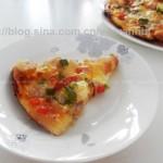 培根海鲜披萨(下午茶)