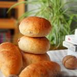 核桃胚芽小餐包(手揉面包)