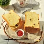 汤种糯米提子干吐司(面包机食谱)