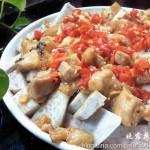 芋头蒸五花肉(清蒸菜)