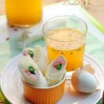 北极虾仁三明治手卷(十分钟打造小朋友最爱的早餐)