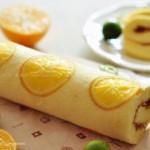 香橙蛋糕卷(甜品点心)