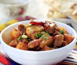 土豆烧羊肉