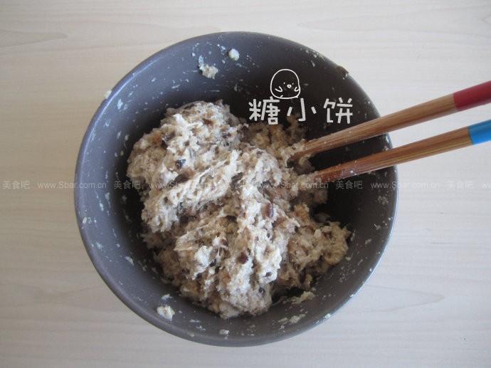 清蒸香菇猪肉丸